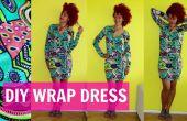 DIY Wrap Dress + hoe naai mouwen