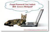 Ontgrendelen van IBM / Lenovo Thinkpad