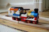 Lego + Brio houten hybride-spoorweg (laat noemen het BREGO!)