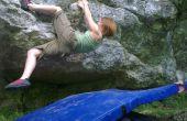 Hoe maak je een op maat gemaakte boulderen mat