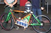 Lichtgewicht elektrische motorfiets met bamboe Frame