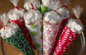 Maak Hot Cocoa Cone geschenk zakken... met uw kleding ijzer!