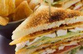 Hoe maak je een Club Sandwich