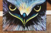 DIY Acryl schilderij van Eagle Eye