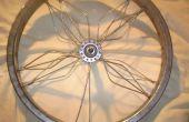 Hoe maak je kunst uit de fiets wiel