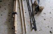 Pijl en boog van de bamboe