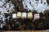 Pinckneyville tuin toetsenbord Plant Markers