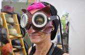 3-in-1 leer Dr. Whoo uil met bril masker