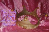Maak jezelf DIY Royalty met deze metalen kroon van schroot