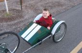 Race auto fiets aanhangwagen