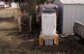 Compost vat, 3 fase
