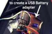 ChipKIT Proto-Shield adapter voor externe USB voeding