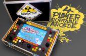 4 speler draagbare Arcade Machine