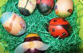 Pasen eieren kleuren leuk