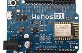 De ESP8266 WeMos-D1R2 programmeren met behulp van de Arduino software/IDE