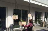 Liftbaar opknoping plantenbakken