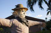 Levensgrote Scarecrow met standaard