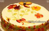 Eenvoudige Layer Cake met Cheesecake recept vullen