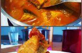 Zalm vissen Curry