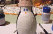 Transformeren van een oude Lamp in een mooie pinguïn