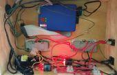 Web Based Raspberry pi gecontroleerd, 2-kanaals Relais lichtnet schakelkast.