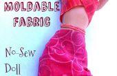 Vormbare weefsel voor Doll kleren