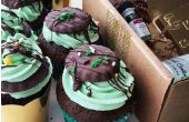 St. Patrick's Day Mint Chocolade Cupcakes