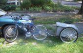Nog een andere fiets aanhangwagen