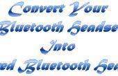 Converteren van uw Bluetooth Headset in Wired Bluetooth Headset
