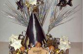 New Year's Craft: eetbare Dum Dums Tabel Centerpiece