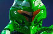 Halo 5 Pathfinder helm Prototype deel 1