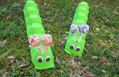 Zomer Crafts for Kids: ei karton Caterpillar