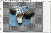 Toevoegen van een transparante achtergrond met behulp van GIMP