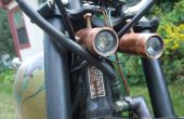 Twin High-Power LED motorfiets koplampen