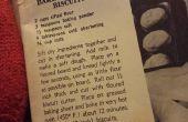 Vintage koekje kip pot pie