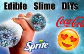 Eetbare Slime DIYs: Galaxy slijm slijm stressbal en Emoji Slime Container