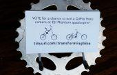 Business Card Holder van fietsonderdelen