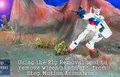 Met behulp van de Rig Removal Tool in Stop Motion Pro 7