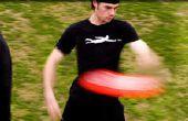 Hoe te gooien een frisbee (Backhand)