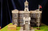 Schaal Model van historisch gebouw: gerechtsgebouw