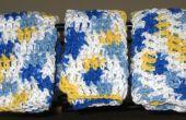 Haak washandjes / vaatdoeken: Hoe haak een washandje