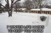 7 winter Life Hacks te houden u Warm