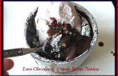 Lava Chocolade & oranje spons Pudding taart