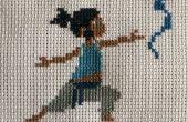 Legende van Korra Cross Stitch: jonge Korra