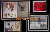 Dubbelzijdig Frames voor uw kunstwerk