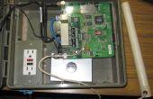Buiten Wrt54G Router met powerline Network adapter voor de levering van internet met Wifi IP camera's