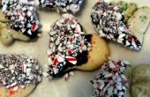 Chocolade Pepermunt Sugar Cookies