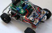 Eenvoudige RC auto voor beginners (Android controle over Bluetooth)
