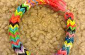 Drie Pin Fish Tail Loom armband