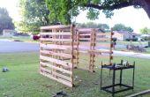 Gemakkelijke, snelle Make-Do schuilplaatsen van gratis Pallets!